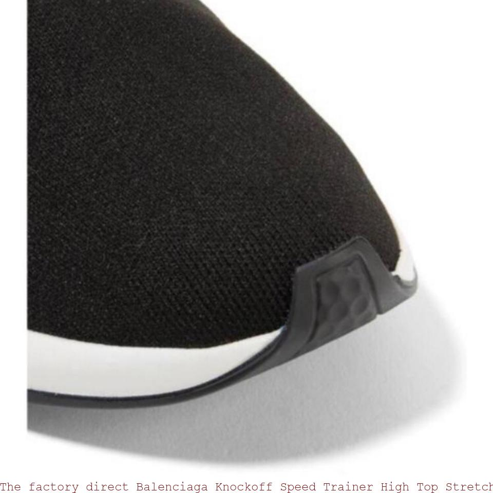 8ca73cf6477 The factory direct Balenciaga Knockoff Speed Trainer High Top Stretch Knit  Sock Sneakers Sneakers high quality replica handbags china