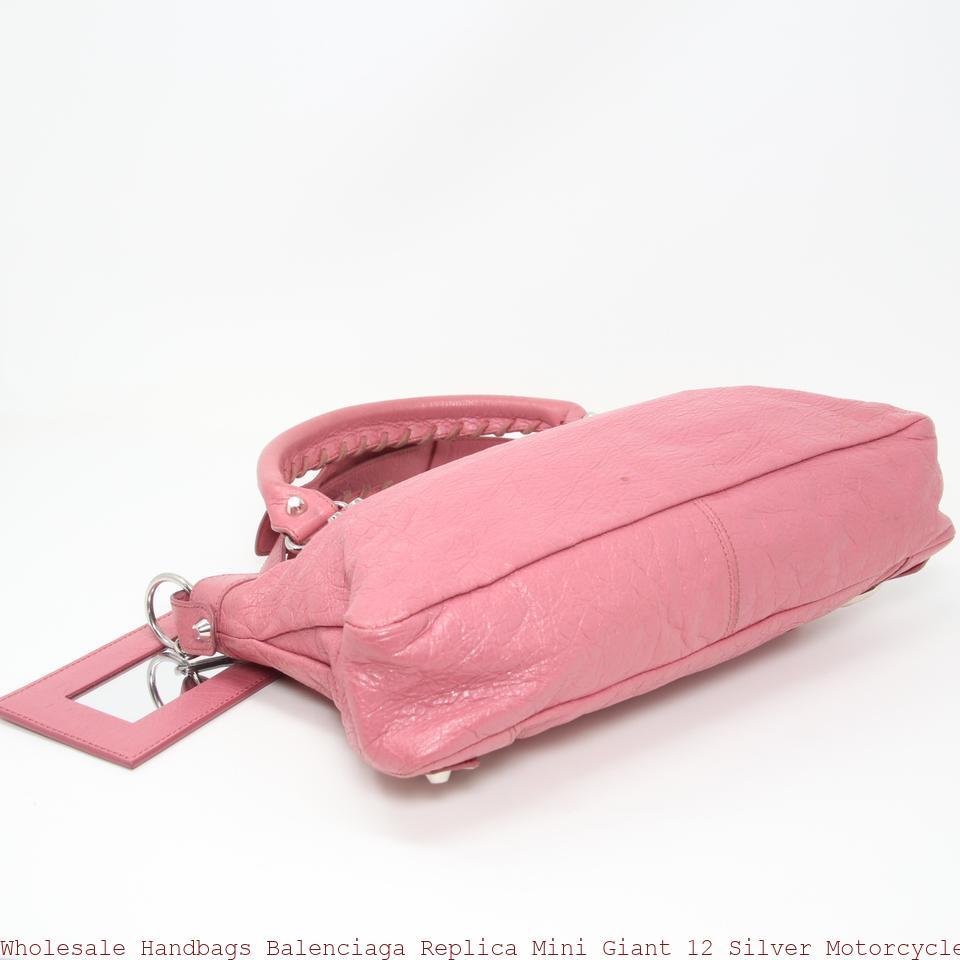 acheter pas cher 35b09 80104 Wholesale Handbags Balenciaga Replica Mini Giant 12 Silver Motorcycle Town  Rose Hortensia Lambskin Leather Tote replica balenciaga triple s