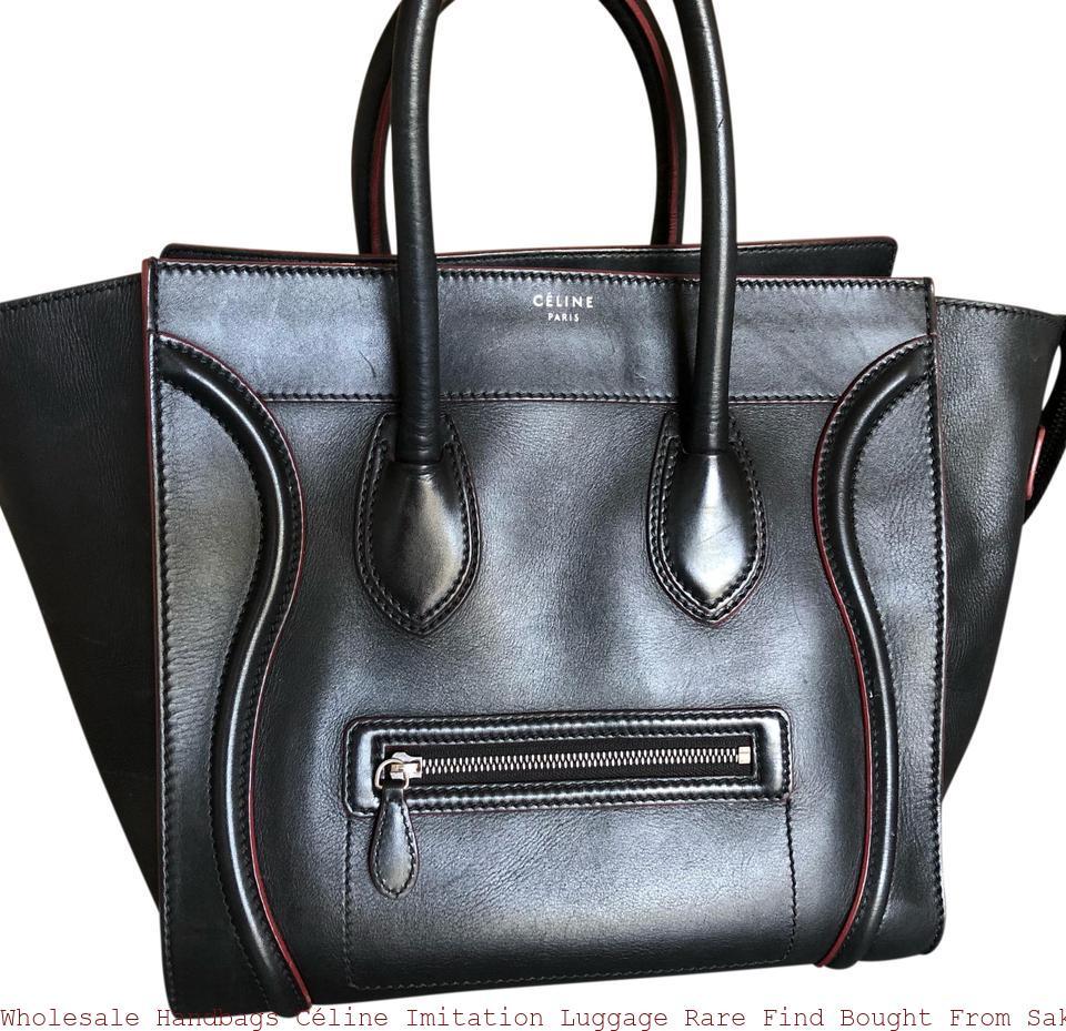 Leather Tote Celine Bag Replica